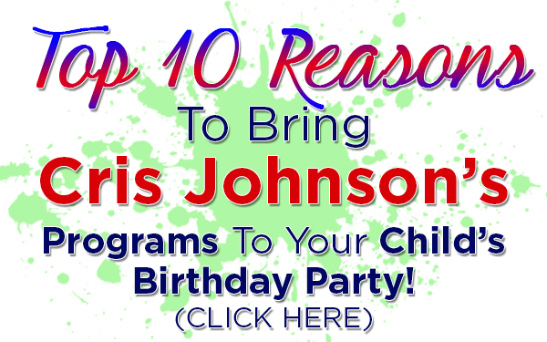 Top 10 Reasons, Cris Johnson, Birthday Party