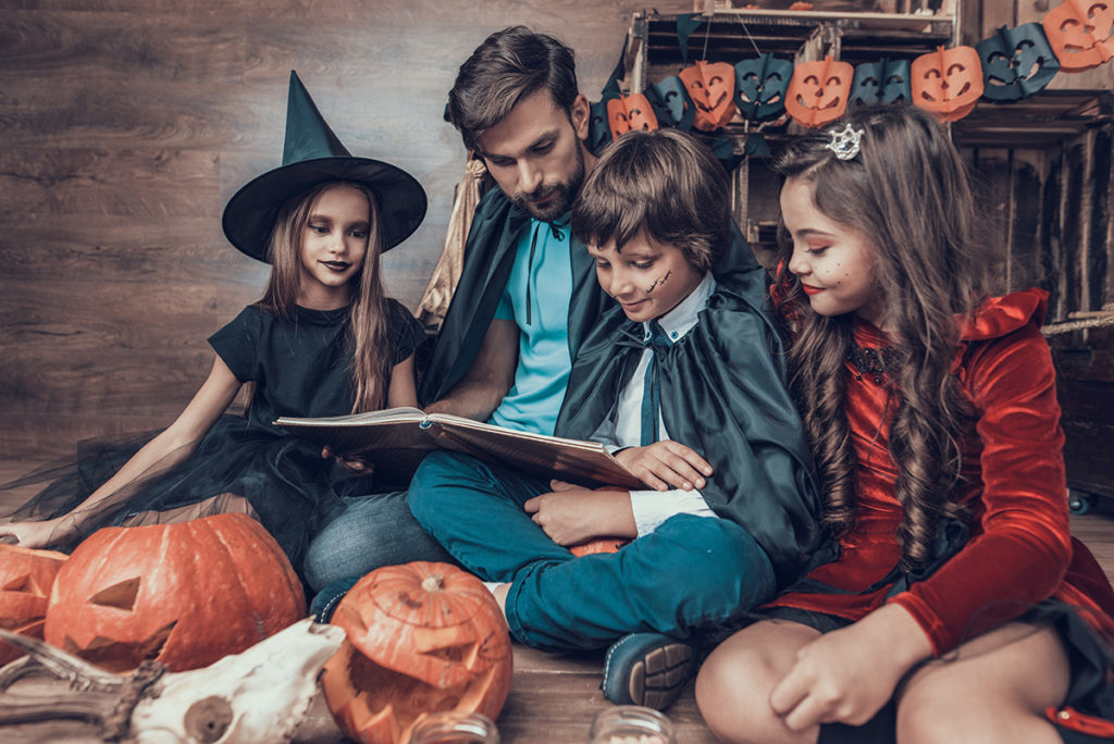 Cris Johnson, books, reading, Halloween, Halloween books