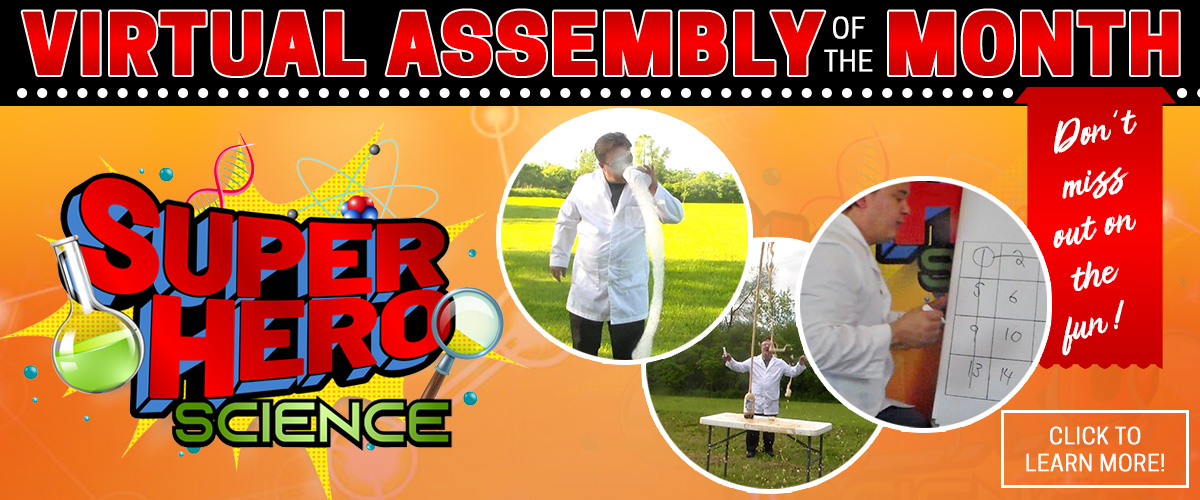Virtual Science Assembly Banner